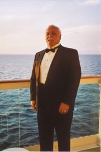 Dad in his tux.
